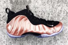 Nike Air Foamposite One Elemental Rose Dropping In April