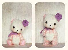 Artisan Teddy Bear OOAK Petite Pink Baby Panda Sienna 5.5 inches · PaeoniaDrop · Online Store Powered by Storenvy