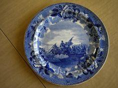 Washington plate.