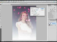 How to create soft dreamy portrait light in Photoshop