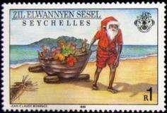 Sello: Christmas (Seychelles) (Zil Elwannyen Sesel) Mi:SC-ZE 158,Yt:SC-ZE 174