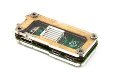Zebra Zero Raspberry Pi Zero Case - Wood