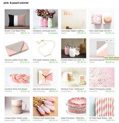 pink- & peach-colorer   Curator: Miriam Fellinger
