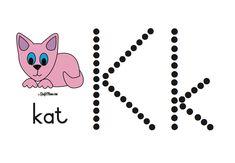 Preschool Writing, Free Preschool, Preschool Learning, Preschool Activities, Grade R Worksheets, Preschool Worksheets, Afrikaans, Alphabet For Kids, Disney Coloring Pages