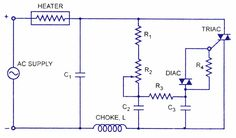 Diac ‪#‎HeatControlCircuit‬ is a process in which change of temperature of a space is measured or otherwise detected.
