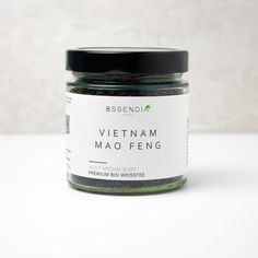 The Vietnam Mao Feng tea is a white tea with a fine, flowery and somewhat sweet aroma. For this tea only silky tea buds are harvested. Subsequently, the buds are hardly fermented anymore. One cup of the Vietnam Mao Feng tea only contains 2 percent of fermented tea leaves and is, therefore, low in caffeine in comparison to black or green tea. Soya Products, Fermented Tea, Tea Varieties, Caffeine, Celery, Brewing, Harvest, Essen