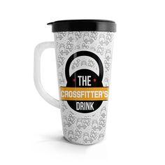 Vasito viajero – Crossfitter's drink, encuentra este producto en nuestra tienda online. Travel Mug, Mugs, Drinks, Tableware, Vase, Siempre Contigo, Store, Drinking, Beverages