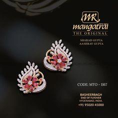 Diamond Studs, Diamond Jewelry, Gemstone Jewelry, Diamond Earrings, Gold Earrings Designs, Gold Jewellery Design, Necklace Designs, Hair Decorations, Mom Jewelry