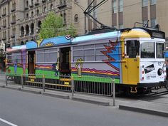 The Melbourne Art Trams project revives the 1978–1993 initiative, but this time around the art will be digitally imprinted.