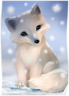 Beautiful Arctic Fox Drawing - So Pretty And Cute Cute Fox Drawing Animated Animals Arctic Fox Digital Drawing Close Up Jill Dimond Art Created On Beautiful Arctic Fox There S A Pos. Cute Fox Drawing, Cute Animal Drawings Kawaii, Baby Drawing, Cute Drawings Of Animals, Baby Animal Drawings, Baby Animals Super Cute, Cute Little Animals, Baby Arctic Fox, Anime Animals