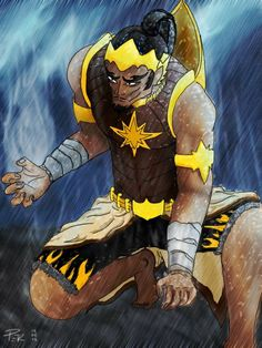 gatotkaca, his superhero