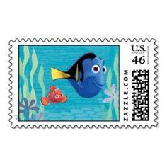 Nemo and Dory 1 Stamp
