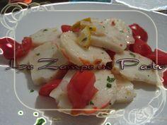 Le Zampe in pasta: Insalata di Surimi al limone