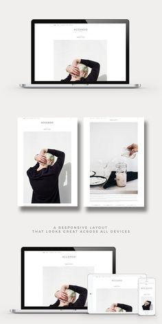 WordPress Minimal Theme Website Templates from ThemeForest - Wordpress Minimal Theme - Ideas of Wordpress Minimal Theme - Web Design, Blog Design, Portfolio Design, Minimalist Wordpress Themes, Online Marketing Companies, Minimal Theme, Photography Themes, Responsive Layout, Fashion Themes