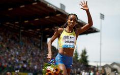 Genzebe Dibaba, 5000m. runner