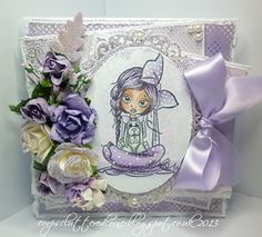 coops cluttered corner: Loving Lavender