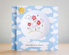 Penny Black Nature's Wishes Shadow Box Card