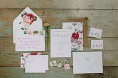 Wedding invitations like this!! So pretty<3