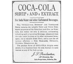 A publicidade da Coca-cola através dos tempos.