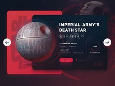 Star Wars / Death Star UI - Star Wars Death Star - Ideas of Star Wars Death Star #starwars #deathstar -   Star Wars / Death Star UI