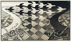 Rechazó a Mick Jagger, a Stanley Kubrick, un hombre loco que buscó pintar la circularidad del mundo que parece una contradicción, ese fue M. C. Escher