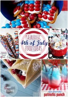 Patriotic Food Ideas for 4th of July