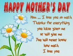 Mother's Day Wishing Cute Card 2