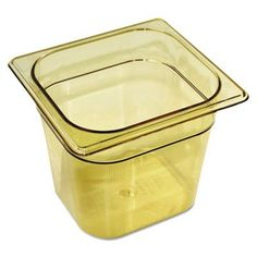 Rubbermaid Commercial Hot Food Pans RCP 206P AMB