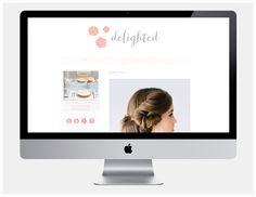 Betty Red Design | Studio: Delighted Magazine Website Design