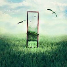 Mind's gate by Julie de Waroquier