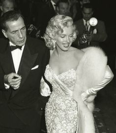 Marilyn Monroe, 1953 #Oscars. Pin to win your dream red carpet look! http://rzoe.co/dream-red-carpet #dreamredcarpet