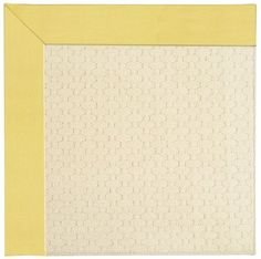 5'x8' Rectangular Canvas Buttercup Yellow Rug By Capel Shoal Java Sisal | On Sale at Floors USA | Item No. 2008RS05000800127