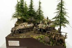 Germans in the Ardennes, Battle of the Bulge. Model Maker, Model Tanks, Model Hobbies, Ardennes, Military Modelling, Military Art, Small World, Plastic Models, Scale Models