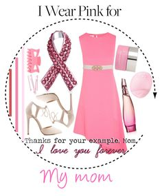 """I Wear Pink for My Mom"" by xfandomsneverdie ❤ liked on Polyvore featuring Narciso Rodriguez, Charlotte Russe, Topshop, Donna Karan, Bling Jewelry, Dr. Sebagh, BOBBY and IWearPinkFor"