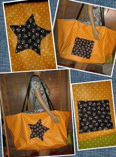 Piratenstern-Strandtasche
