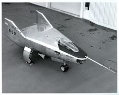 NASA M2-F2 Lifting Body, 1965 - This is what Col Austin crashed in the opening of the $6 Million Dollar Man