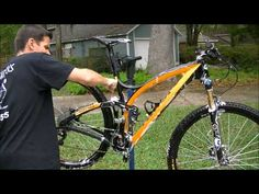 How to clean a bicycle in about 15 minutes - YouTube