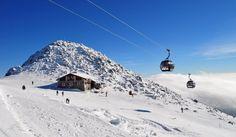 Chopok, Slovakia; the best plum dumplings! What a great skiing adventure!