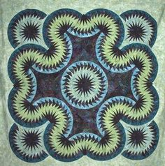 Celtic Wave  ~ Quiltworx.com by Certified Instructor, Linda Tellesbo