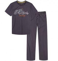 Piżama męska. Grafiki oraz teksty na t-shirtach i piżamach dla dorosłych można znaleźć również na koszulkach dla dzieci! #tata #dad #endo #endopl #sklependo #tshirt #family #kids #dzieci #dziecko