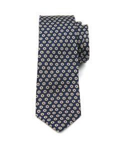 Polka dot silk tie - Navy | Ties & Pocket Squares | Ted Baker