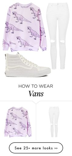 """Untitled #1049"" by pinkunicorn007 on Polyvore featuring Topshop and Vans"