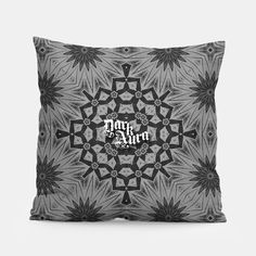 A simple yet stylish pillow designed by you and for you. Your home is going to look exceptional!Manufacturedmanually in Europe with best materials available, and printed with unique image of your choice!pattern, night, sad, abstract, black, goth, gothic, gothgoth, occult, witch, darkness, metal,  steampunk, punk, neogoth, grunge, nerd, emo, darkness, metalhead, vintage, retro, witchcraft, pagan, wicca, music, mythology, satan, urban, industrial, city,  alternative, alternativefashion… Black Goth, Urban Industrial, Gothic Home Decor, Gothic House, Unique Image, Vintage Comics, Metalhead, Pillow Design, Home Decor Items