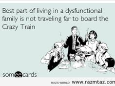 This is funny. Some call it crazy train. A tornado of crazy! Funny Me, Funny Signs, Hilarious, Funny Stuff, Funny Shit, Sarcastic Humor, Sarcasm, Toxic Family, Dysfunctional Family