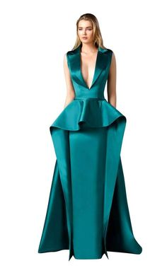 5b0859960bf58 Edward Arsouni Couture 0310. Glamorous Evening GownsGown ...