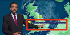 A weatherman pronounced a 58-letter word during a live broadcast like it was nothing