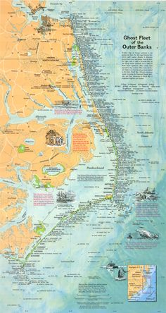 Shipwrecks of the Outer Banks.