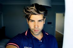 #greyeyes #2015 #hairstyle #summer #hugoboss #fuzz #model
