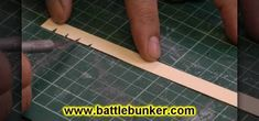 How To Make Shingles For A Tudor Style Roof On A Dollhouse