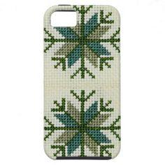Latvian Design Cross Stitch iPhone 5 Case